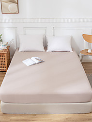 cheap -Bed Sheet Set Fitted Sheet Set Hypoallergenic Bedding Collection Bedding Extra Soft Brushed Microfiber Wrinkle Fade Stain Resistant Single Double Queen King