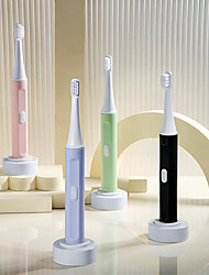cheap -Adult Ultrasonic Electric Toothbrush Men And Women Battery Household Couples Toothbrush Dental Cleaning Device
