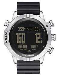 cheap -NORTH EDGE Men's Sport Watch Digital Digital Sporty Outdoor Altimeter Compass Stopwatch