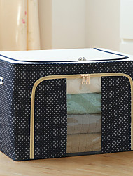 cheap -steel frame storage box oxford cloth storage box quilt storage box folding wardrobe fabric extra large storage bag with lid