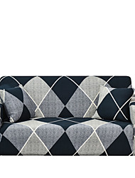 cheap -Sofa Cover The Geometric Print Dustproof Stretch Slipcovers Stretch  Super Soft Fabric Couch Cover Fit for 1to  4 Cushion Couch and L Shape Sofa (You will Get 1 Throw Pillow Case as free Gift)