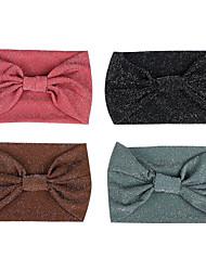 cheap -cross-border new solid color bow knot cross hair lead headband sports goods yoga antiperspirant headscarf headband hair accessories