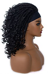cheap -foreign trade wig chemical fiber lady of liberty dirty braid turban curly wig xuchang factory wholesale a drop