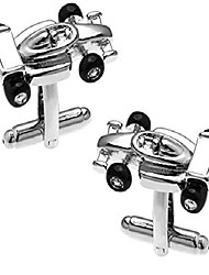 cheap -cufflinks direct f1 indy motor racing car cufflinks gift cuff links (cufflinks with gift bag)