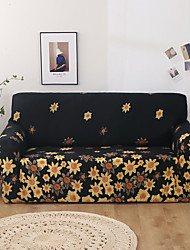 cheap -Sofa Cover Stretch Slipcovers Color Print  Dustproof  Super Soft Fabric Couch Cover Fit for 1to  4 Cushion Couch and L Shape Sofa (You will Get 1 Throw Pillow Case as free Gift)