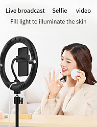 """cheap -8"""" LED Ring Light Dimmable LED 3 Color Lighting Modes for Photography Tiktok Youtube Video Makeup Live Streaming"""