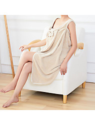cheap -Superior Quality Bath Robe,Coral Velvet Suspender Cute Soft Absorbent Bath Robe for Women