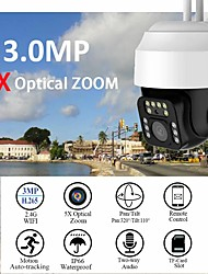 cheap -Yoosee 3MP HD PTZ 5X Zoom Security IP Camera Outdoor WIFI Waterproof H.265 1296 CCTV Auto Tracking Surveillance Floodlight Audio