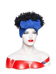 cheap -new headscarf wig amazon african chemical fiber small volume fluffy short curly high temperature silk headgear factory straight hair
