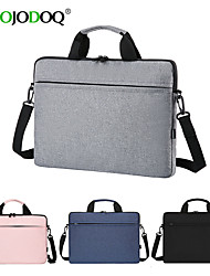 cheap -laptop bag 13.3 14 15.6 inch waterproof notebook case sleeve for macbook air pro 13 15 computer shoulder handbag briefcase bags