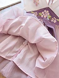 cheap -girls hanfu underwear spring 2021 girls baby chinese embroidered princess net yarn dress manufacturers