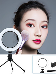 """cheap -6.3"""" LED Ring Light Dimmable LED with Tripod Stand With Phone Holder 3 Color Lighting Modes for Photography Tiktok Youtube Video Makeup Live Streaming"""