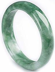 cheap -ly natural jade bracelet bangle feng shui emerald jadeite bangles bracelets for women jewelry 36612,53-54mm