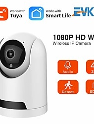 cheap -Tuya SmartLife 1080P IP Camera Wireless WiFi Mini Camera 2MP Auto Tracking Security Surveillance CCTV PTZ Camera Baby Monitor