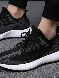 cheap -2020 net shoes men's flying woven sports shoes breathable korean shoes summer black wild mesh casual running men's shoes