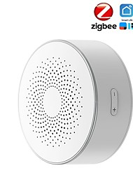cheap -tuya smart zigbee siren wireless linkage smart sound and light alarm horn siren
