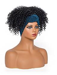 cheap -european and american fashion headscarf wig small curly headgear african ladies headscarf wig headgear factory wholesale