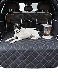 cheap -Dog Cat Pets Dog Cat Car Seat Cover Pet Backseat Cover Waterproof Washable Nonslip Solid Colored Classic Cotton puppy Small Dog Medium Dog Training Outdoor Driving Black