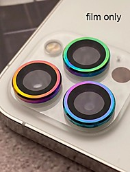 cheap -2PCS/3PCS Color Camera Lens Tempered Glass Film For iPhone 12 12 pro 12 mini Tempered Glass Back Cover For iPhone 11 pro iPhone 11