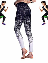 cheap -omg check it out ! high waist forrest gym leggings + free workout band (x-large, black)
