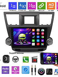 cheap -suitable for toyota 09-12 highlander car android gps navigation all-in-one car bluetooth reversing image