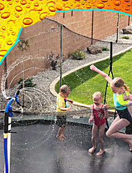 cheap -Trampoline WaterWhirl - Kids Fun Summer Outdoor Water Park Game Sprinkler - Waterpark Toys for Boys Girls and Adults - Trampoline Accessories Included