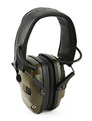 cheap -Ear Protector Shooting Earmuff Safety Professional Cool Breathable Multifunction ABS for Men's Military / Tactical Shooting Black Green