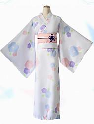 preiswerte -Inspiriert von Cosplay Cosplay Anime Cosplay Kostüme Japanisch Kleider Kimonoo Kleid Für Damen