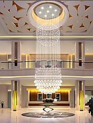 cheap -Crystal Chandelier Ceiling Light Globular LED Round Illumination Ceiling Pendant Light Luxury Design For Deco Interior Dining Room Living Room Hotel