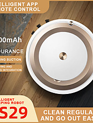 cheap -3 In 1 Intelligent Robot Vacuum Cleaner Sweeper Vacuum Cleaner Robot for Floors Pet Hair Dust