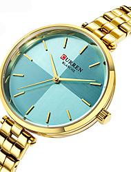 cheap -CURREN Women's Quartz Watches Analog Quartz Stylish Casual Creative Large Dial / Japanese