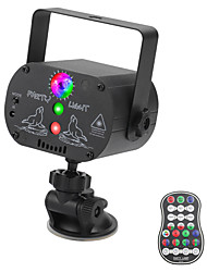 cheap -Stage Light USB Rechargeable Mini Laser Lamp RGB LED Party Light Stage Effect Lighting with Suction Cup and Remote Controller Sound Mode for DJ KTV Concert Party