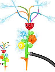 cheap -Kids Sprinkler Outdoor Water Activity Spray Sprinkler for Toddlers Boys and Girls-Spinning Spray Sprinkler for Backyard Splash Games Courtyard Swirl Water Game for Summer