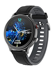 cheap -MT18 Smartwatch for Android iOS 1.28 inch Screen Size IP 67 Waterproof Level Waterproof Touch Screen Heart Rate Monitor Blood Pressure Measurement Sports Timer Stopwatch Pedometer Call Reminder Sleep