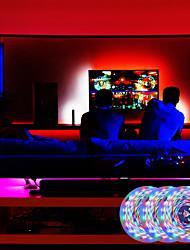 cheap -LED Strip Lights Voice Control Music Version RGB Light Strip 5M 10M 15M 20M Light Sets Tiktok Light Strips 2835 SMD with IR 24 Keys Remote Control 12V Adapter Kit for Bedroom Home Party TV Back Lights