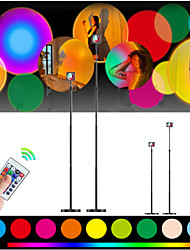 cheap -Sunset Lamp RGB 16Colors Rainbow Lamp  Led Light Background Wall Decoration Light For Tiktok Youtube Ins (Sunset Lamp with Remote Adjustable Size 140/177cm)