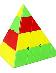 cheap -ShengShou 4x4 Pyramid stickerless Magic Cube Qiyi Master Pyraminx Speed Cube