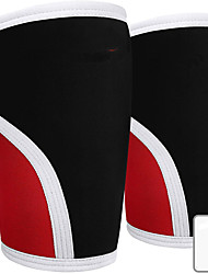 cheap -Knee Sleeves for CrossFit Powerlifting Weightlifting and Knee Support 7mm Knee Sleeves Knee Sleeves CrossFit Knee Sleeves Powerlifting Knee Compression Sleeve 1 Pc