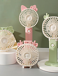 cheap -Mini Portable Pocket Fan With Light Cool Air Hand Held Travel Cooler Cooling Mini Fans Cute Fans For Girls Kids Home Office