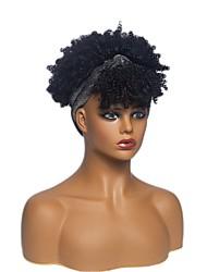 cheap -european and american wigs, hair bands, short curly hair, chemical fiber wigs, wigs, aliexpress, fashion turban wigs