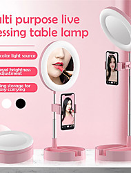 """cheap -3.3"""" Lighting LITBest Dimmable LED with Tripod Stand 3 Color Lighting Modes Height Adjustable for Photography Tiktok Youtube Video Makeup Live Streaming"""