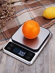 cheap -1kg Auto Off LCD Display Multi - mode Electronic Kitchen Scale Kitchen daily