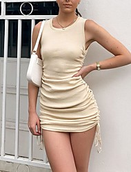 cheap -ebay foreign trade 2021 sexy sling spring and summer new hot models in europe and america slim bag hip vest dress women's clothing