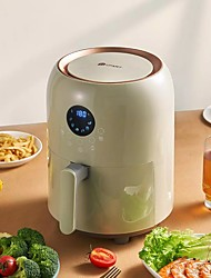 cheap -Xiaomi Deep fryer for home Intelligent Air fryer Oil-free timing multi-function deep frying pot healthy low calorie low fat airfryer