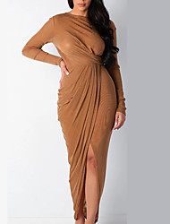 cheap -amazon aliexpress ebay independent station european and american women's mesh open back long-sleeved sexy nightclub dress women's clothing