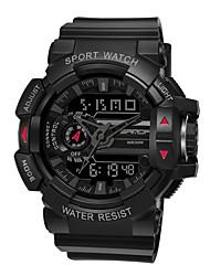 cheap -Men's Digital Watch Analog - Digital Digital Sporty Outdoor Calendar / date / day Chronograph Alarm Clock