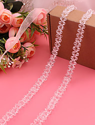 cheap -Satin / Tulle Wedding / Party / Evening Sash With Crystal / Belt Women's Sashes