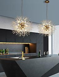 cheap -9-Light 50 cm Globe Design Pendant Light Metal Stylish Globe Beads Electroplated Modern Nordic Style 110-240 V