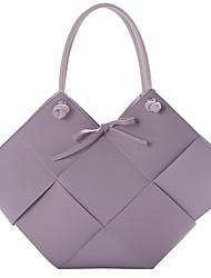 cheap -Women's Bags Bag Set Top Handle Bag Date Office & Career 2021 Handbags White Black Purple Khaki