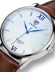 cheap -YAZOLE Men's Wrist Watch Analog Casual Casual Watch / One Year